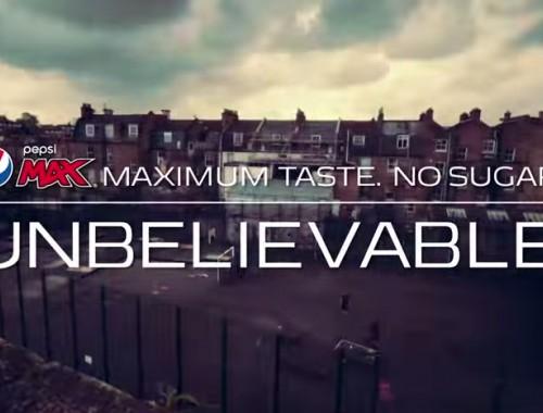 The Unbelievable Game - Pepsi Max. Unbelievable #LiveForNow