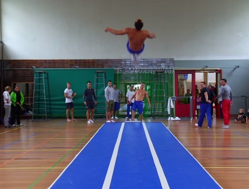 Presentation of an Airgym product - the airfloor